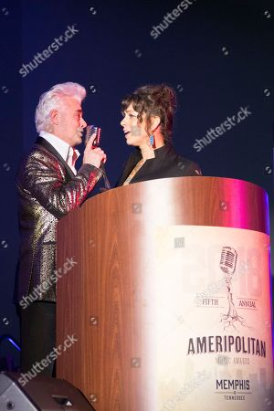 Hosts Dale Watson and Danielle Colby (American Pickers)