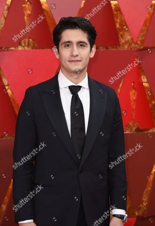 Wesam Keesh arrives at the Oscars, at the Dolby Theatre in Los Angeles