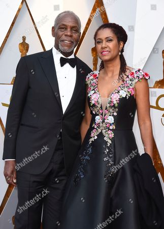 Danny Glover, Eliane Cavalleiro. Danny Glover, left, and Eliane Cavalleiro arrive at the Oscars, at the Dolby Theatre in Los Angeles