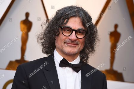 Ziad Doueiri arrives at the Oscars, at the Dolby Theatre in Los Angeles
