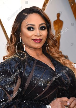 Taura Stinson arrives at the Oscars, at the Dolby Theatre in Los Angeles