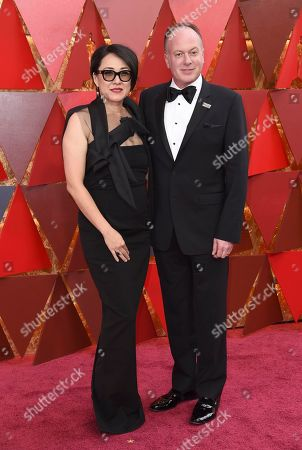 Ramsey Naito, Tom McGrath. Ramsey Naito, left, and Tom McGrath arrive at the Oscars, at the Dolby Theatre in Los Angeles
