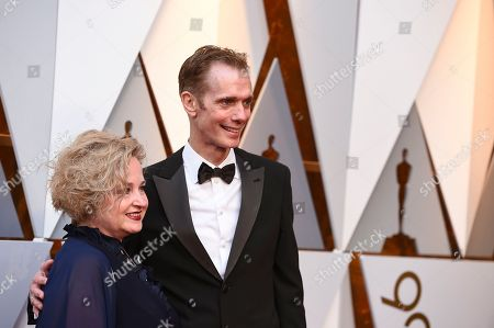 Doug Jones, Laurie Jones. Doug Jones, right, and spouse Laurie Jones arrive at the Oscars, at the Dolby Theatre in Los Angeles