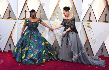 Whoopi Goldberg, Alex Martin. Whoopi Goldberg, left, and Alex Martin arrive at the Oscars, at the Dolby Theatre in Los Angeles