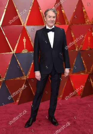 Carter Burwell arrives at the Oscars, at the Dolby Theatre in Los Angeles
