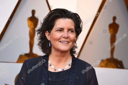 Tatiana S. Riegel arrives at the Oscars, at the Dolby Theatre in Los Angeles