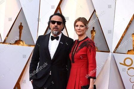 Alejandro Gonzalez Inarritu, Maria Eladia Hagerman. Alejandro Gonzalez Inarritu, left, and Maria Eladia Hagerman arrive at the Oscars, at the Dolby Theatre in Los Angeles