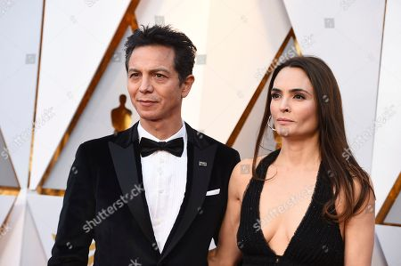 Benjamin Bratt, Talisa Soto. Benjamin Bratt, left, and Talisa Soto arrive at the Oscars, at the Dolby Theatre in Los Angeles
