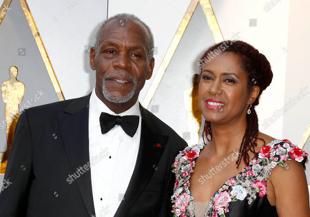 Danny Glover and Eliane Cavalleiro
