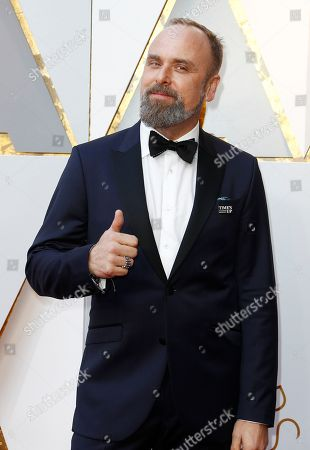 Editorial photo of Arrivals - 90th Academy Awards, Hollywood, USA - 04 Mar 2018