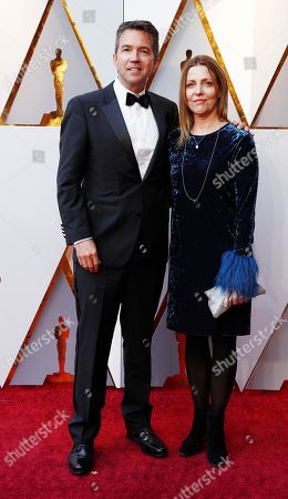 Stock Picture of Christopher Townsend (L) arrives for the 90th annual Academy Awards ceremony at the Dolby Theatre in Hollywood, California, USA, 04 March 2018. The Oscars are presented for outstanding individual or collective efforts in 24 categories in filmmaking.