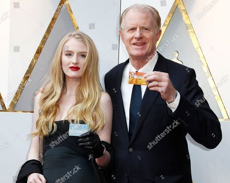 Ed Begley Jr. (L) and Hayden Carson Begley (R) arrive for the 90th annual Academy Awards ceremony at the Dolby Theatre in Hollywood, California, USA, 04 March 2018. The Oscars are presented for outstanding individual or collective efforts in 24 categories in filmmaking.
