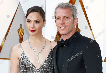 Gal Gadot (L) and Yaron Varsano arrive for the 90th annual Academy Awards ceremony at the Dolby Theatre in Hollywood, California, USA, 04 March 2018. The Oscars are presented for outstanding individual or collective efforts in 24 categories in filmmaking.