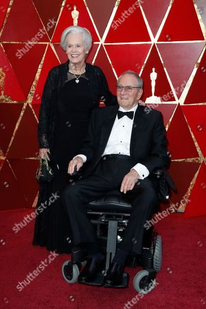 Stock Picture of Owen Roizman and Mona Lindholm
