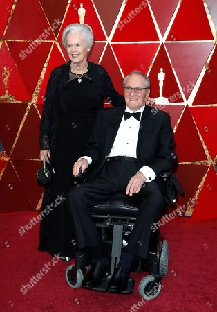 Stock Image of Owen Roizman and Mona Lindholm