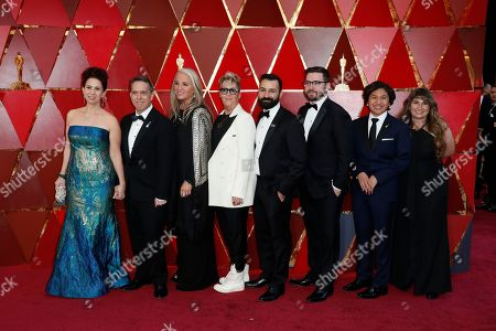 Editorial image of Arrivals - 90th Academy Awards, Hollywood, USA - 03 Mar 2018