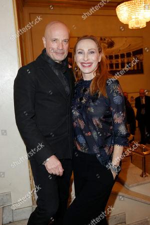 Andrea Sawatzki and partner Christian Berkel