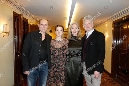 Romanus Fuhrmann, Jana Klinge, Katja Weitzenboeck, Dominic Raacke