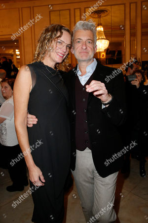 Dominic Raacke and partner Alexandra Rohleder