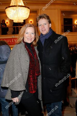 Marion Kracht and partner Berthold Manns