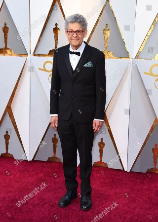 Sidney Wolinsky arrives at the Oscars, at the Dolby Theatre in Los Angeles