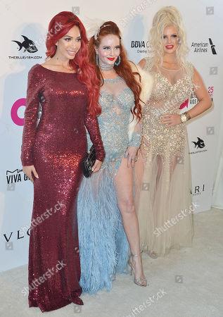 Farrah Abraham, Sophia Vegas Wollersheim, Phoebe Price