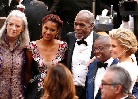 Joslyn Barnes, Eliane Cavalleiro, Danny Glover, Yance Ford, Jane Fonda. Joslyn Barnes, from left, Eliane Cavalleiro, Danny Glover, Yance Ford and Jane Fonda arrive at the Oscars, at the Dolby Theatre in Los Angeles