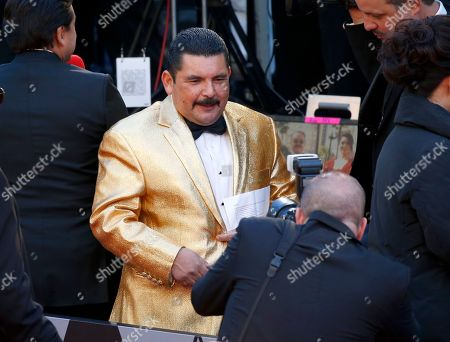 Guillermo Rodriguez arrives at the Oscars, at the Dolby Theatre in Los Angeles