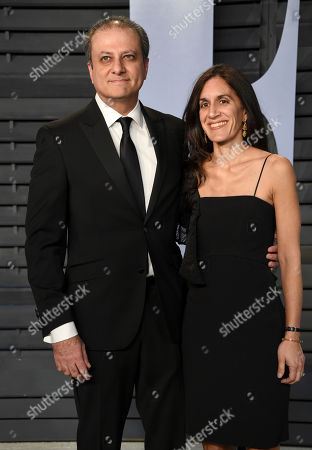 Preet Bharara, Dalya Bharara. Preet Bharara, left, and Dalya Bharara arrive at the Vanity Fair Oscar Party, in Beverly Hills, Calif