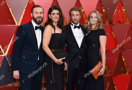 Felix Striegel, Katja Benrath, Tobias Rosen, Julia Drache. Felix Striegel, from left, Katja Benrath, Tobias Rosen, and Julia Drache arrive at the Oscars, at the Dolby Theatre in Los Angeles