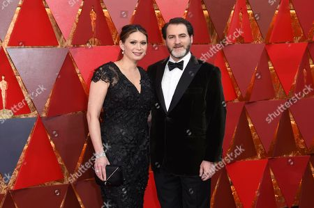 Mai-Linh Lofgren, Michael Stuhlbarg. Mai-Linh Lofgren, left, and Michael Stuhlbarg arrive at the Oscars, at the Dolby Theatre in Los Angeles