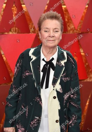 Sandy Martin arrives at the Oscars, at the Dolby Theatre in Los Angeles