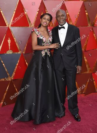 Eliane Cavalleiro, Danny Gover. Eliane Cavalleiro, left, and Danny Glover arrive at the Oscars, at the Dolby Theatre in Los Angeles