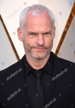 Martin McDonagh arrives at the Oscars, at the Dolby Theatre in Los Angeles