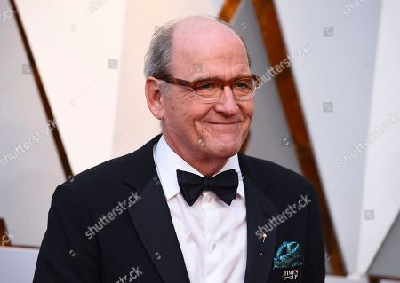 Richard Jenkins arrives at the Oscars, at the Dolby Theatre in Los Angeles