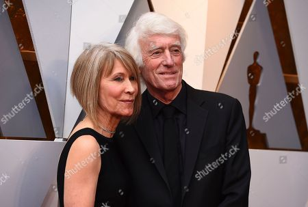 Roger Deakins, Isabella James Purefoy Ellis. Roger Deakins, right, and Isabella James Purefoy Ellis arrive at the Oscars, at the Dolby Theatre in Los Angeles