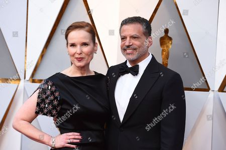 Jennifer Todd, Michael De Luca. Jennifer Todd, left, and Michael De Luca arrive at the Oscars, at the Dolby Theatre in Los Angeles