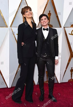 Evren Savci, Kimberly Peirce. Evren Savci, left, and Kimberly Peirce arrive at the Oscars, at the Dolby Theatre in Los Angeles