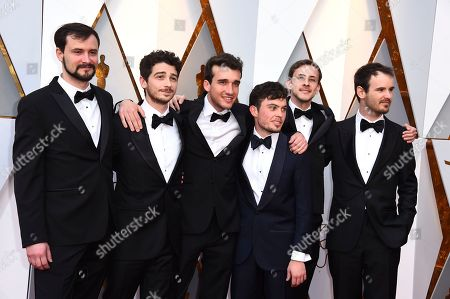 Editorial image of 90th Academy Awards - Arrivals, Los Angeles, USA - 04 Mar 2018