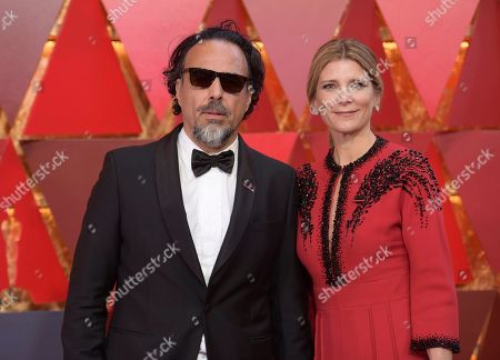 Alejandro G. Inarritu, Maria Eladia Gonzalez. Alejandro G. Inarritu, left, and Maria Eladia Gonzalez arrive at the Oscars, at the Dolby Theatre in Los Angeles