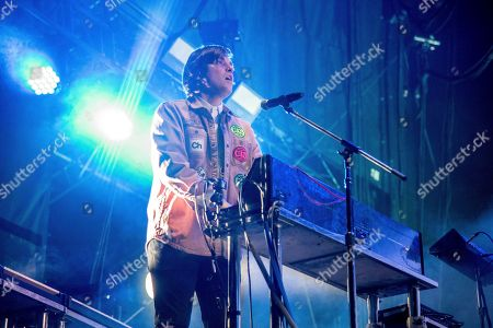 William Butler of Arcade Fire performs at the Okeechobee Music and Arts Festival, in Okeechobee, Fla