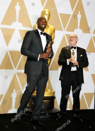 Kobe Bryant and Glen Keane