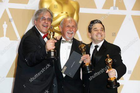 Mark Weingarten, Gregg Landaker and Gary Rizzo