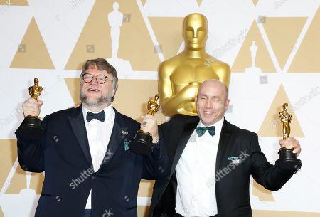 Guillermo del Toro and J. Miles Dale