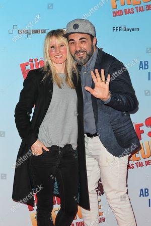 Adnan Maral, wife Franziska Maral,