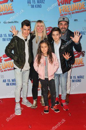Adnan Maral, wife Franziska Maral, Kinder Acun, Emel, Can,