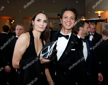 Talisa Soto, left, Benjamin Bratt. Talisa Soto, left, and Benjamin Bratt attend the Governors Ball after the Oscars, at the Dolby Theatre in Los Angeles