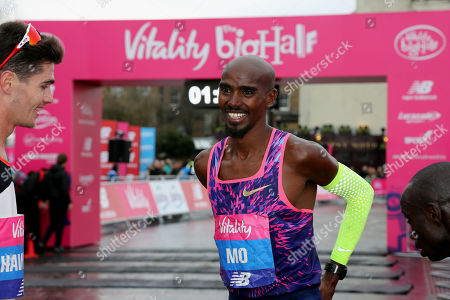 Editorial image of Vitality Big Half Marathon, London, UK - 04 Mar 2018