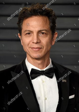 Benjamin Bratt. Benjamin Brett arrives at the Vanity Fair Oscar Party, in Beverly Hills, Calif