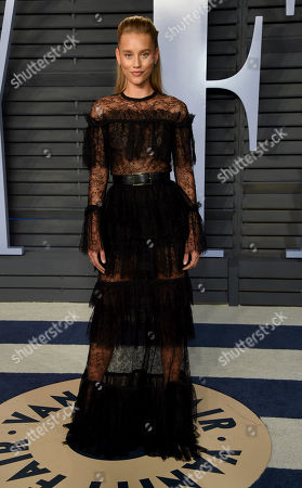 Chase Carter arrives at the Vanity Fair Oscar Party, in Beverly Hills, Calif